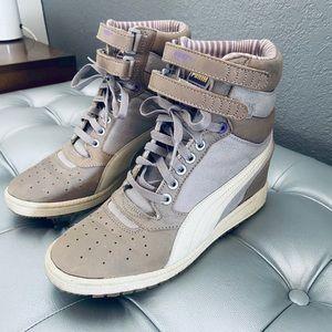 Puma Sky Hidden Wedge High Top Sneakers